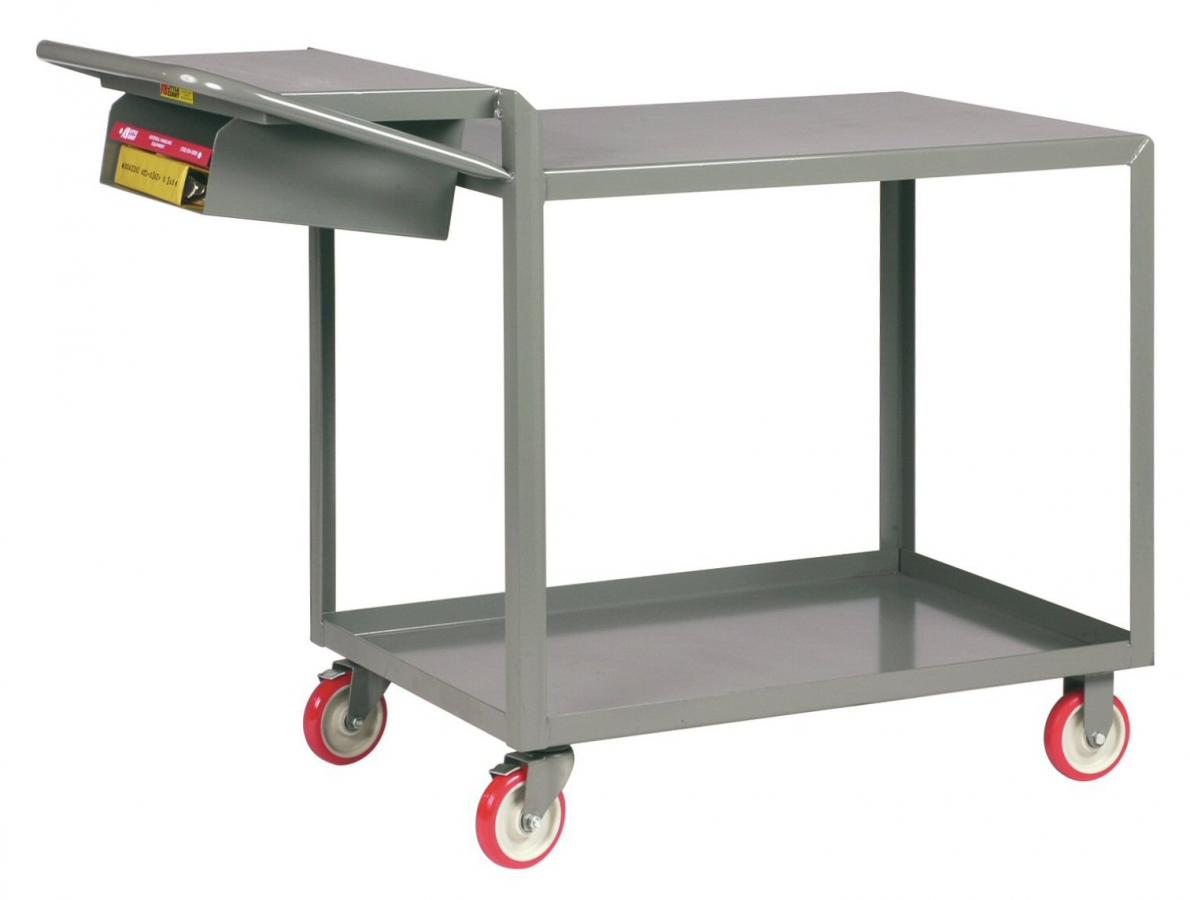 All Welded Order Picking Truck With Pocket