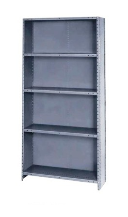Heavy Duty Industrial Shelving Closed