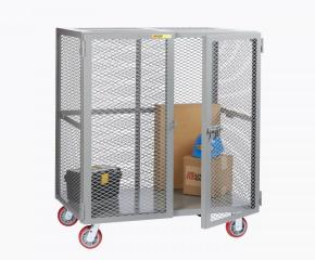 Heavy Duty Mobile Storage Locker No Shelf