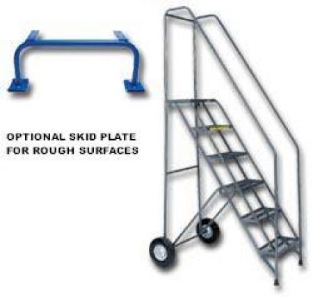 FOLD N STORE ROLLING LADDER
