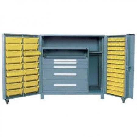 Lyon All Welded Maintenance Center Cabinet 1102F2