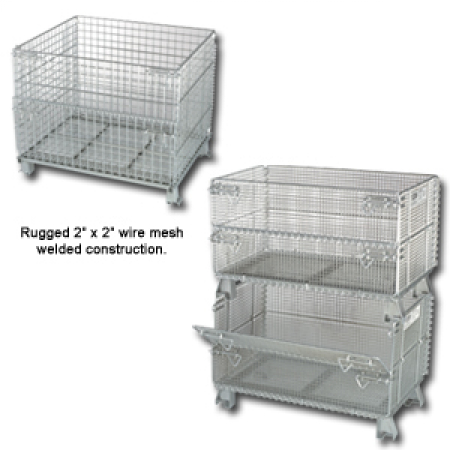 WIRE CONTAINERS WIRE BASKETS