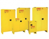 FLAMMABLE SAFETY CABINETS WITH LEGS