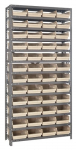 "Economy 4"" Shelf Bin Steel Shelving System"