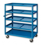 EXPANDED METAL STOCK CARTS