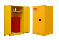 FLAMMABLE DRUM SAFETY CABINET