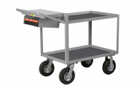 INSTRUMENT CART - WRITING SHELF & STORAGE POCKET