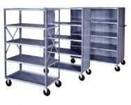 INDUSTRIAL SHELF TRUCKS
