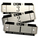 LYON LOCKER ACCESSORIES