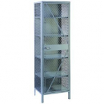 ALL WELDED VISIBLE STORAGE CABINET