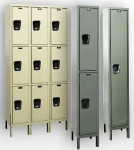 MAINTENANCE FREE QUIET LOCKERS