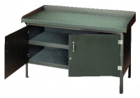 ENCLOSED STEEL TOP WORKBENCH