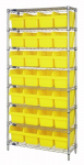 "Store-Max 8"" Shelf Bin Wire Shelving System"