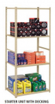 LOW PROFILE LIGHT DUTY SHELVING